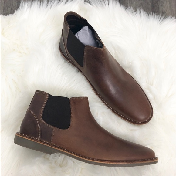 5131d2729f4 Steve Madden Impass Chelsea Leather Mid Boot NWT